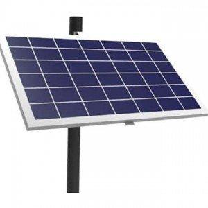 Adjustable Solar Side Pole Mount Bracket - Fits 1 Panels