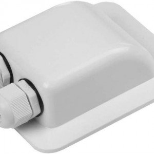 Weatherproof ABS Solar Double Cable Entry Gland for All Cable Types