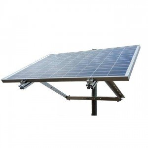 Side of Pole Solar Panel Mount Rack for Off-Grid Solar Panel
