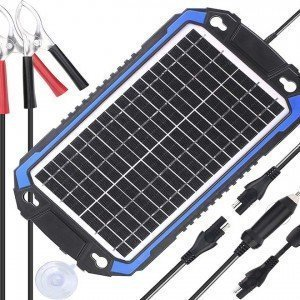 Solar Car Battery Charger & Maintainer